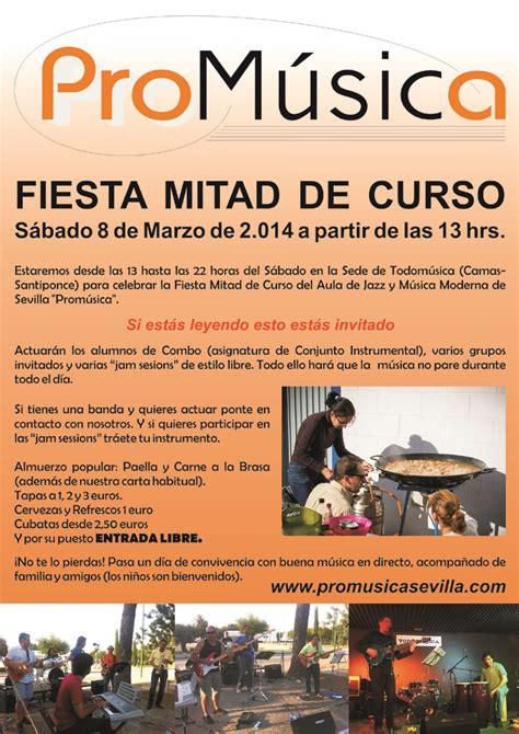 FIESTA MITAD DE CURSO 2013/14 DEL AULA DE JAZZ Y MÚSICA ...