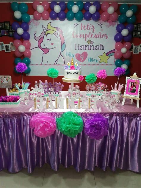 Fiesta unicornio | Cumpleaños