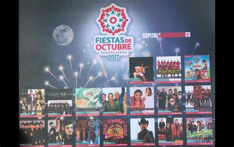 Fiestas de Octubre 2017 revela su cartel | El Informador ...
