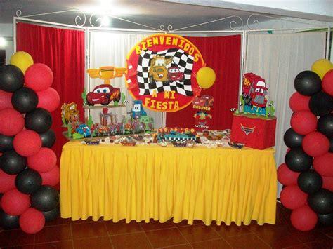 Fiestas Deco Mania : Fiesta de cumpleaños, Cars.