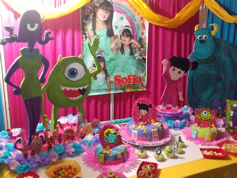 Fiestas Deco Mania : Fiesta de cumpleaños, Motivo Monster Inc.