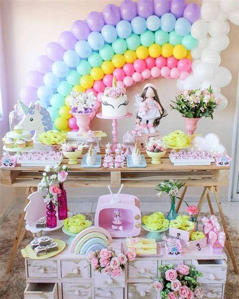 Fiestas infantiles de Unicornio para niña con ideas increíbles