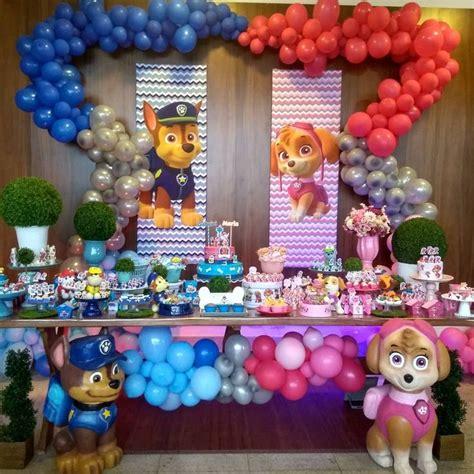 Fiestas para niño y niña Decoracion para cumpleaños de ...