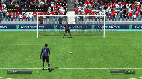 FIFA 13   Amazing Penalty Shootout + Skill Game. Milan v ...