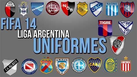 FIFA 14 UNIFORMES LIGA ARGENTINA   HD   YouTube