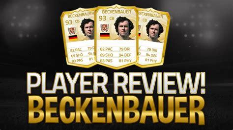 Fifa 15 Franz Beckenbauer Review BEST DEFENDER ULTIMATE ...