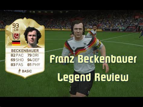 FIFA 16   Franz Beckenbauer   Legend Review   YouTube