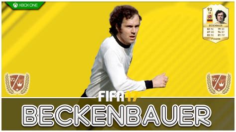 FIFA 17   Legend Review   Franz Beckenbauer !   YouTube