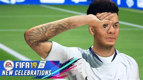 FIFA 19   HOW TO UNLOCK DELE ALLi NEW CELEBRATION ...