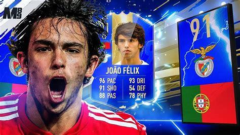 FIFA 19 TOTS JOAO FELIX REVIEW | 91 TOTS JOAO FELIX PLAYER ...