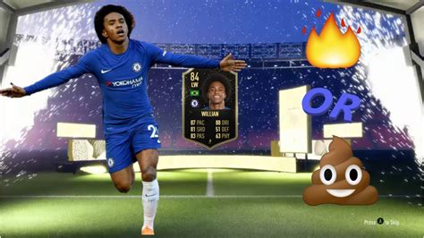 FIFA 20   84 INFORM WILLIAN PLAYER REVIEW!   YouTube