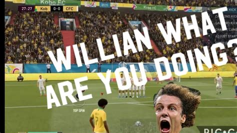 FIFA 20 FUT: Willian can t make a free kick to save his ...