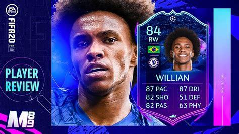 FIFA 20 RTTF WILLIAN REVIEW | 84 RTTF WILLIAN PLAYER ...
