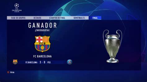 FIFA: ¿Quién ganaría la Champions 2020 según FIFA 20 ...