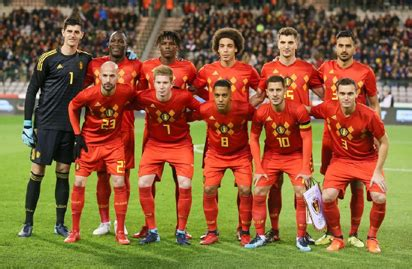 FIFA World Cup  8 Days to go  : Team Profile – BELGIUM ...