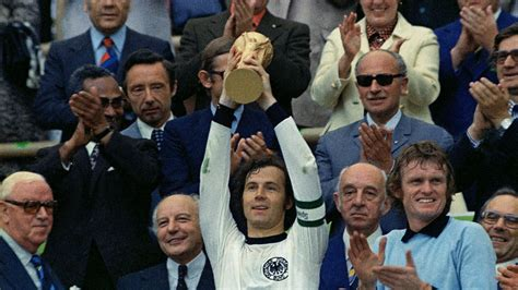 FIFA World Cup Throwback : Beckenbauer wins World Cup as ...