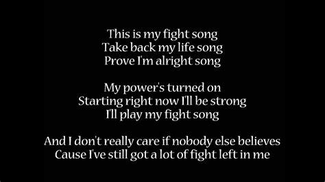 Fight Song   Rachel Platten   Lyrics   YouTube