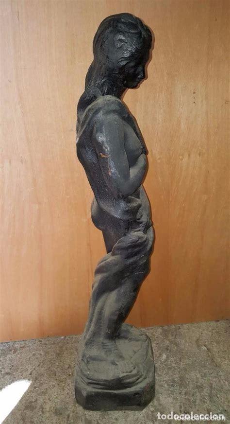 figura escultura de hierro fundido para jardin   Comprar ...