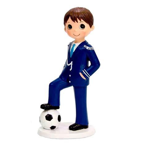 Figura Niño Comunión Fútbol   Envíos 24 Hs
