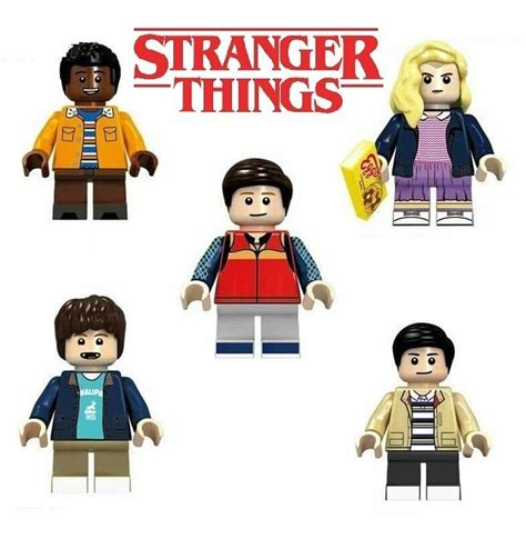 Figuras Stranger Things Eleven Dustin Compatible Bloques ...
