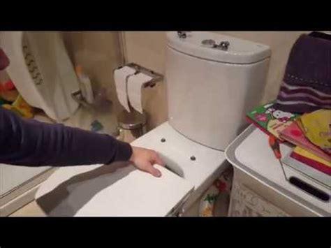 Fijar Tapa váter WC Roca Dama Senso y cambiar bisagras ...