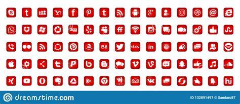 Fije De Los Iconos Sociales Populares Instagram Facebook ...