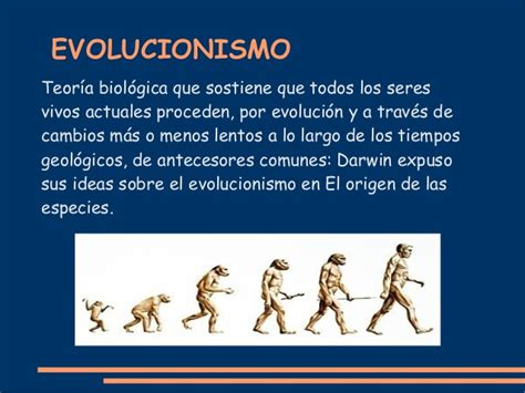 FIJISMO Y EVOLUCIONISMO