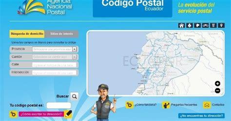 FILATELIA DEL ECUADOR: EL CODIGO POSTAL ECUATORIANO 2013