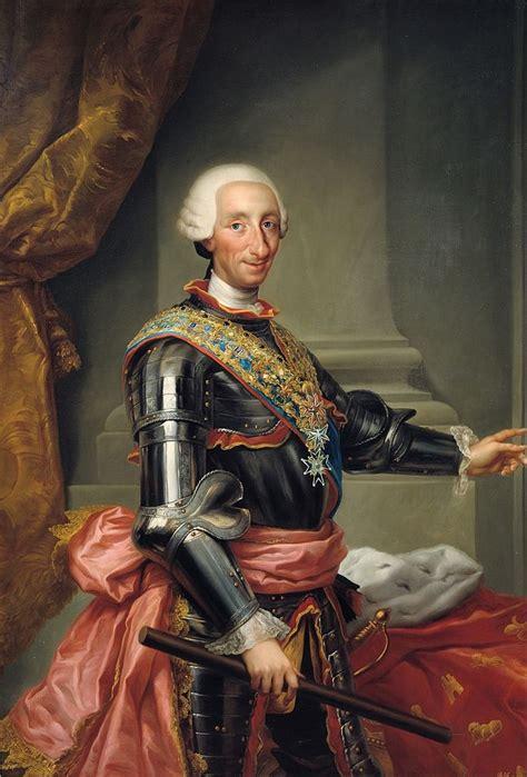 File:Carlos III de España, de Anton Raphael Mengs  Museo ...