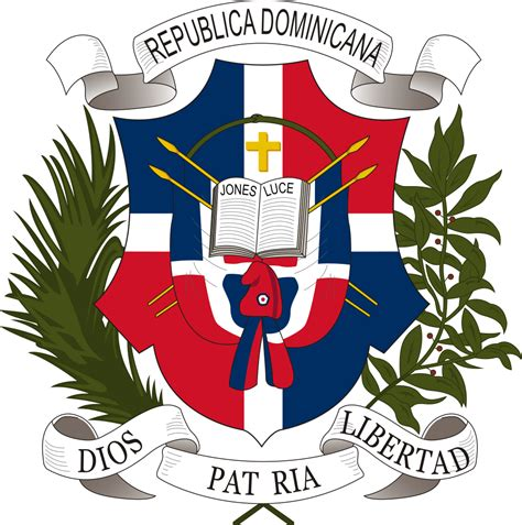 File:Coat of arms of the Dominican Republic  1860 .svg ...