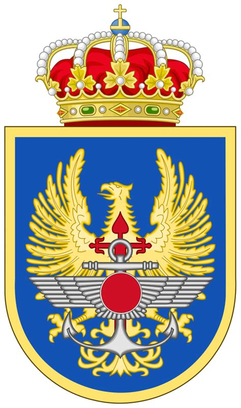 File:Coat of Arms of the Spanish Defence Staff EMAD.svg ...