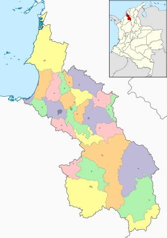 File:Colombia Sucre location map  adm colored .svg ...