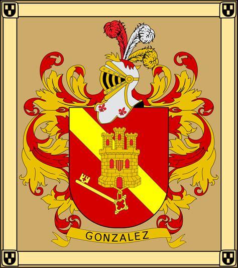 File:Escudo de Armas de los Gonzalez 2  variante familiar ...