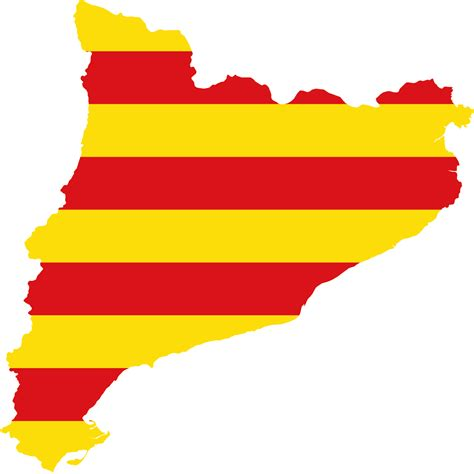 File:Flag map of Catalonia.svg   Wikimedia Commons