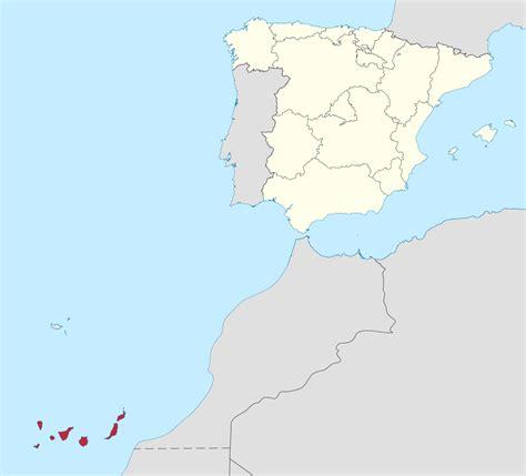 File:Islas Canarias  real location  in Spain.svg ...