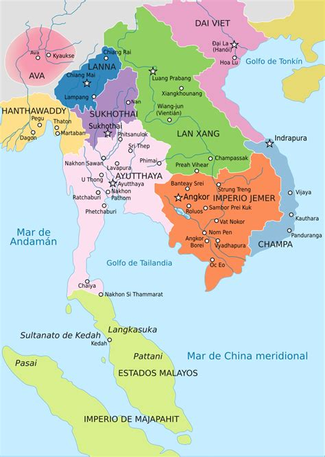 File:Map of southeast asia 1400 CE es.svg   Wikimedia Commons
