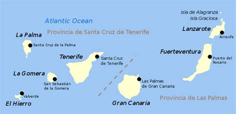 File:Map of the Canary Islands.svg   New World Encyclopedia