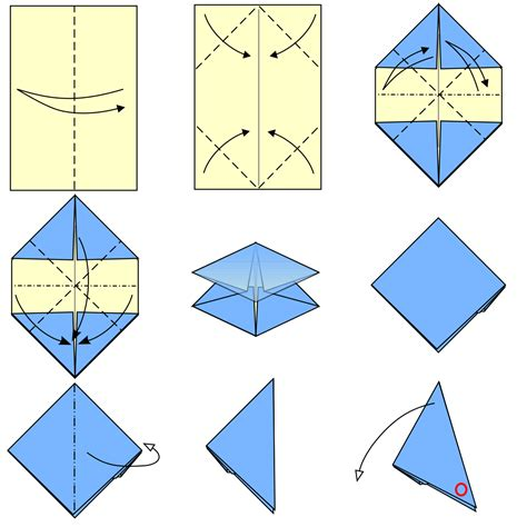 File:Origami paper popper type1.svg   Wikimedia Commons