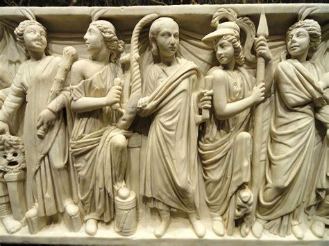 File:Roman sarcophagus  detail , Rome, 240 260 CE   Nelson ...