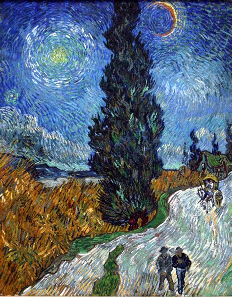 File:Van Gogh   Country road in Provence by night.jpg ...