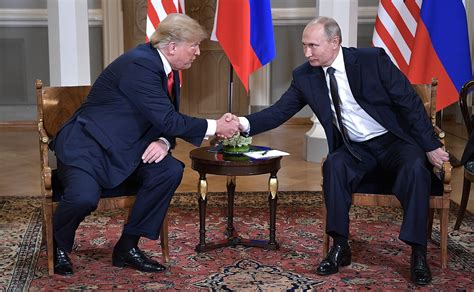 File:Vladimir Putin & Donald Trump in Helsinki, 16 July ...