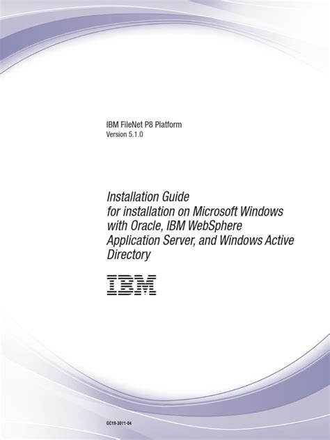 FileNet P8 Platform Installation Guide | Installation ...