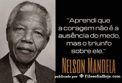 Filosofia Hoje: A coragem de Nelson Mandela
