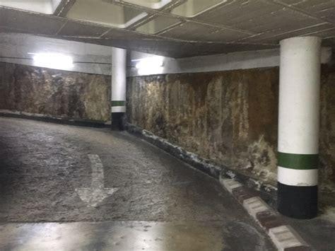 Filtraciones en muros de sótano
