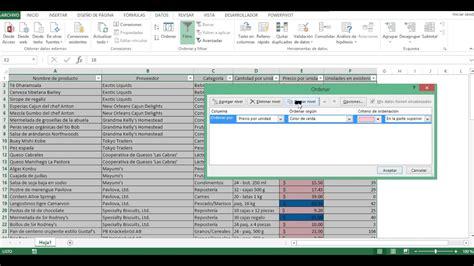 Filtrar Por Colores en Excel   YouTube
