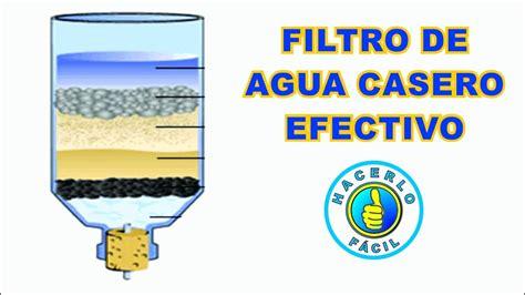 Filtro De Agua   Cómo Hacer Un Filtro De Agua Casero ...