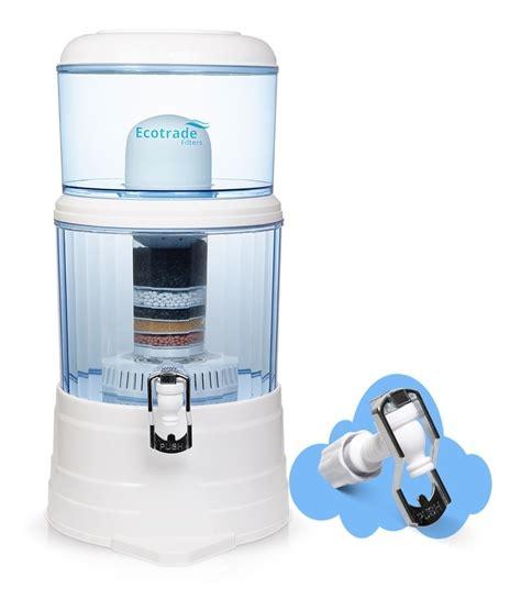 Filtro Purificador Agua Ecotrade 14 Litros + Repuesto ...