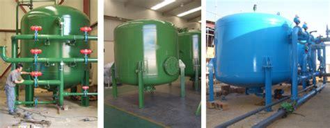 Filtros de arena   GEDAR   Tratamiento de Aguas
