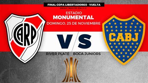 Final Copa Libertadores 2018: River vs Boca: horario y ...