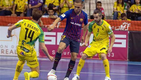 Final de la Copa Rey de futbol sala: Barça Lassa   Jaén ...